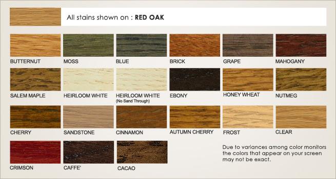 Red Oak Stains Dewils Custom Cabinetry
